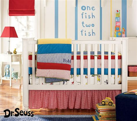 Dr Suess Crib Bedding by Kicking It In The Suburbs Nursery Inspiration
