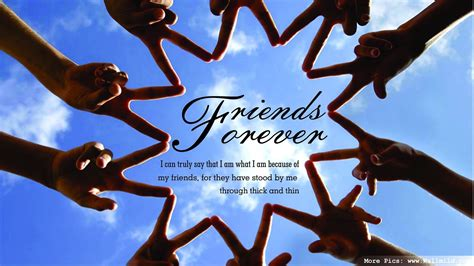 friends forever i can truly say that i am what i am