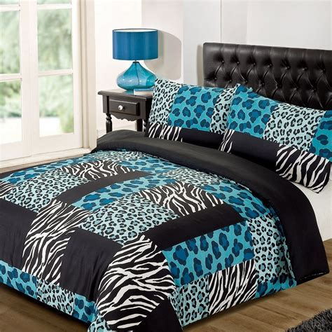 black and teal bedding animal print bedding for kids ease bedding with style