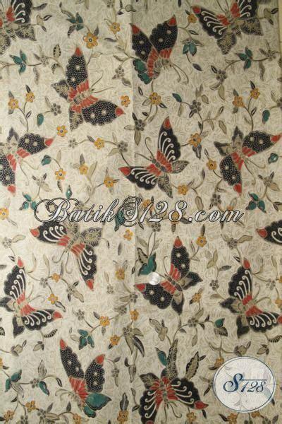 Kbt029 Kain Batik Tulis Katun Premium Motif Cantik Murah Bawahan jual batik terbaru motif kupu kupu batik modis kombinasi tulis bahan dress dan blus