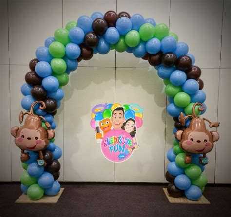 Balloon Arch Baby Shower by Balloon Arch Baby Shower Decorations And Arches On