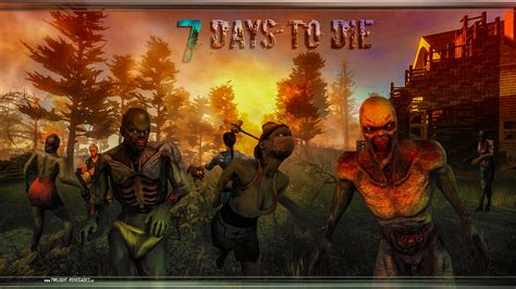 Painting 7 Days To Die by 7 Days To Die Wallpaper By Periodsoflife On Deviantart
