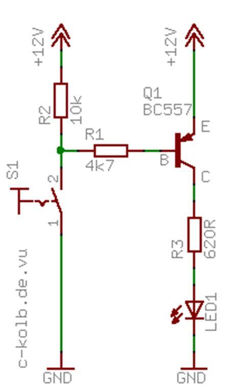 transistor npn als schalter npn oder pnp c kolb