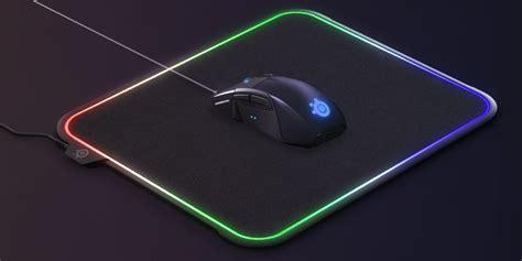 Mousepad Steelseries Qck Prism Rgb steelseries qck prism rgb illuminated mousepad gives gamers choice of surface