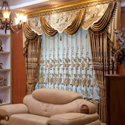 High Ceiling Curtains Ou Mandi Chinese High End European Style Embroidered