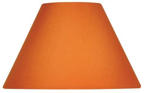 Orange L Shade Uk by Oaks Satsuma Orange Cotton Coolie 5 Quot Fabric Shade S501