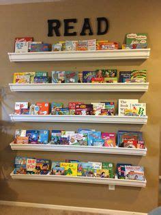 1000 ideas about gutter bookshelf on