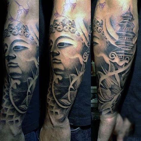 buddha tattoo designs for men 100 buddhist tattoos for buddhism design ideas