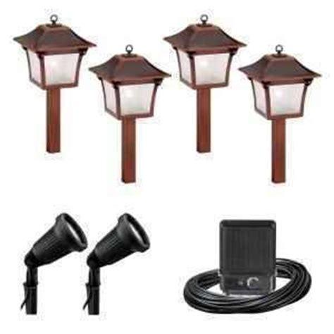 Malibu Landscape Lighting Sets Malibu 6 Pc Low Voltage Colonial Landscape Light Set Kit 8300 9901 06 New Ebay