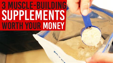 3 supplements worth your money 3 building supplements worth your money