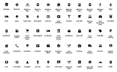 icones barra superior android design elements road signs road transport design