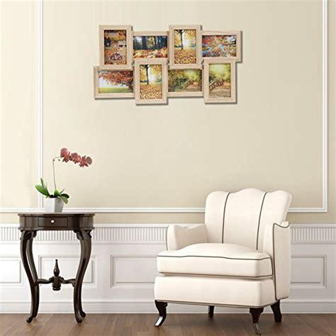 cornici multifoto da parete songmics cornice multifoto da parete con 8 posti di foto e