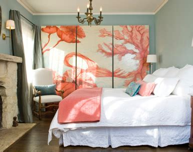 Coral Color Home Decor | belle maison august 2012