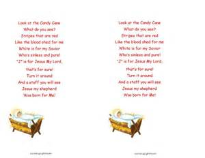 Free printable candy cane poem for operation christmas child shoeboxes
