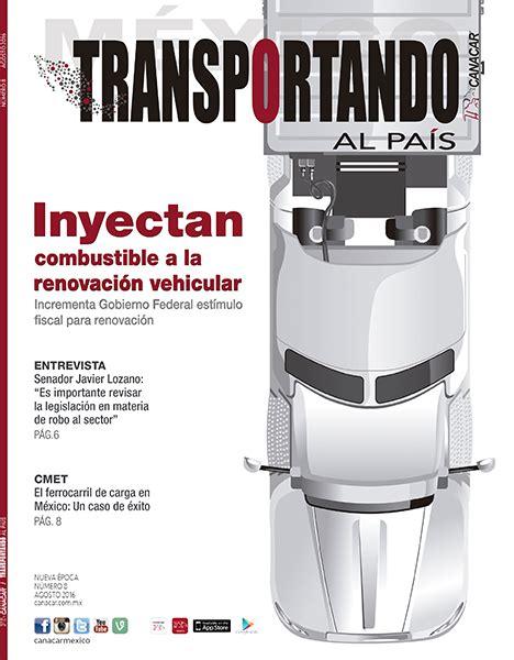 revista vehicular 2016 wwwtaxidfgobmx revista vehicular de transporte de carga privado 2016