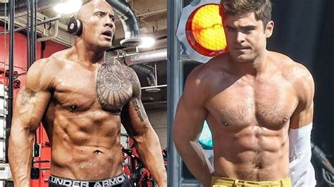 wie alt ist zak the rock vs zac efron transformation