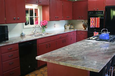 painting kitchen cabinets red creative with chalk paint on kitchen cabinets