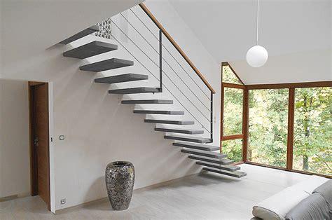 Escalier Suspendu Beton by Optez Pour Un Escalier Suspendu En B 233 Ton 224 Prix Malin Avec