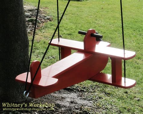 swings tutorial whitney s workshop airplane swing tutorial