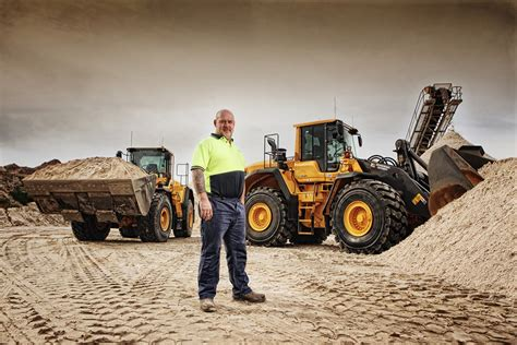 burdett sands productivity fuel savings lead    volvos cjd equipment