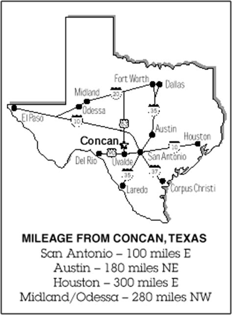 map of concan texas concan tx map pictures to pin on pinsdaddy