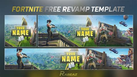 Free Gfx Insane Fortnite Rev Template Psd Youtube Fortnite Logo Template