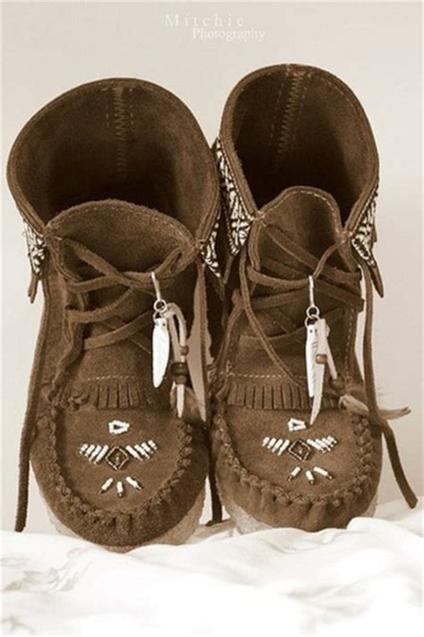 Country Boot Mocasin Brown shoes boots moccasin boots hippie hippie boots indian