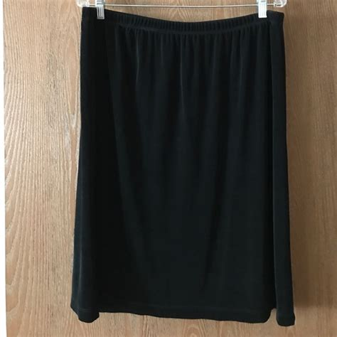 Guc Black by Chico S Guc Black Chico S Travelers Skirt Size 3 From