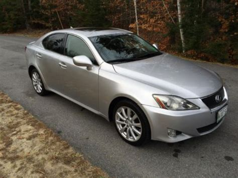 how does cars work 2008 lexus is navigation system buy used 2008 lexus is250 silver awd loaded with nav with only 73k miles no reserve in south