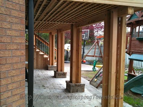 walkout basement design m e landscaping project galleries of interlocking landscaping decks
