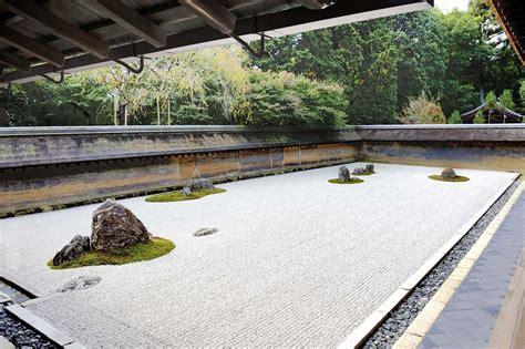japanese zen rock garden