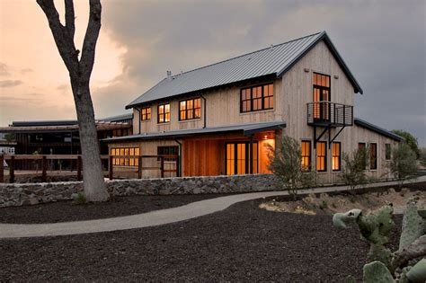 modern barn house design exterior farmhouse with raised