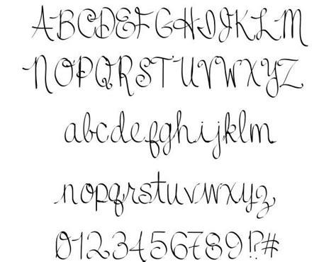 tattoo fonts handwritten best 25 cursive fonts for tattoos ideas on