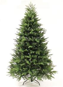 8 foot georgia fir artificial christmas tree unlit