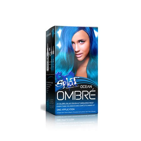 how to dye your hair with splat ocean ombre how to dye your hair with splat ocean ombre splat hair