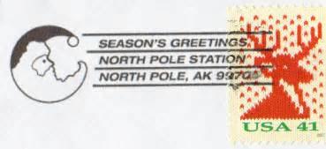 Santa s address get a north pole postmark free christian santa