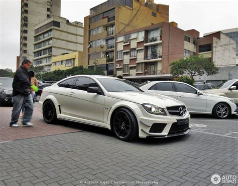 Black Series by Mercedes C 63 Amg Coup 233 Black Series 31 Januar 2017