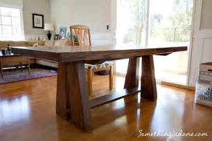 Diy Dining Room Table Dining Table Diy Dining Table Plans