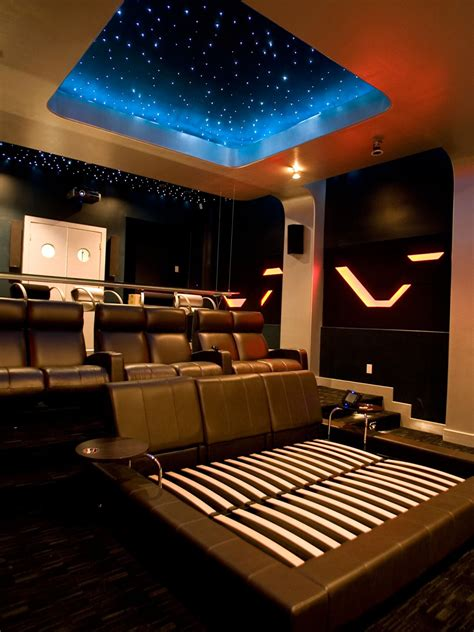 theatre with beds home theater popcorn machines pictures options tips ideas hgtv