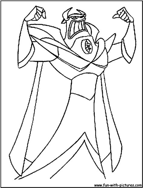 zurg coloring pages printable toy story zerg colouring pages