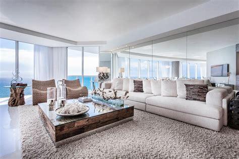 Livingroom Nyc appartement de luxe avec belle vue sur l eau situ 233 sur la