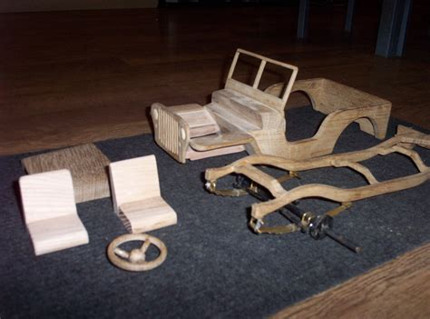 wooden jeep plans  woodworking