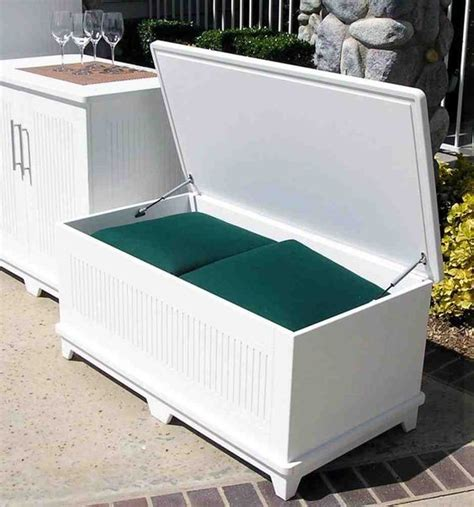 outdoor pool storage bench 20 smart outdoor storage furniture ideas shelterness