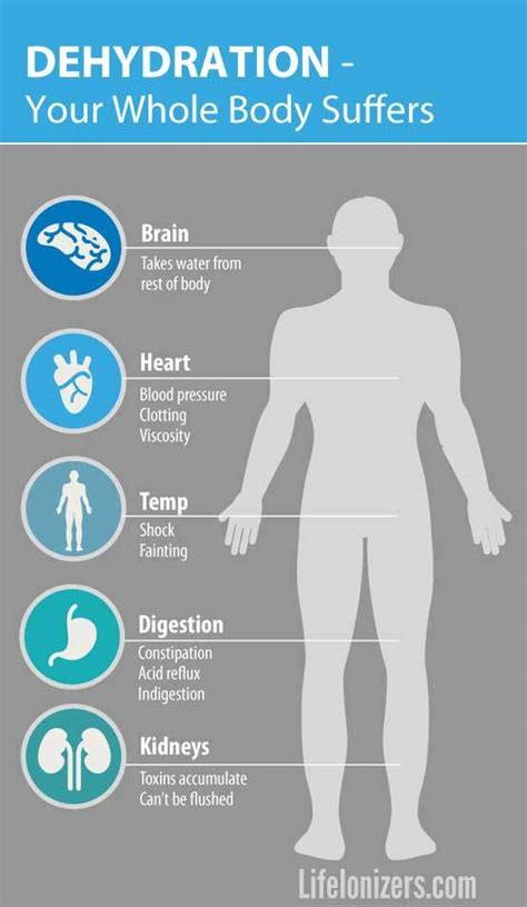 dehydration effects dehydration what happens if you don t drink enough water