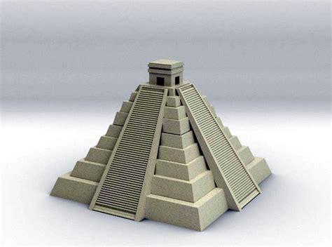 Pyramid Lamp by Mayan Pyramid 3d Model 3d Printable Stl Cgtrader Com