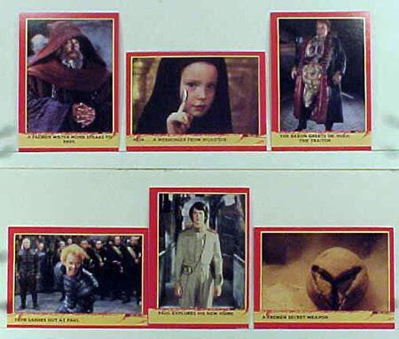 Dune Gift Card - intergalactic trading company product dune trading cards set
