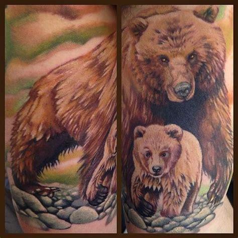 stunning grizzly bear tattoo ideas the wild tattoo 2018
