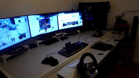 pc gamer  mon bureau youtube