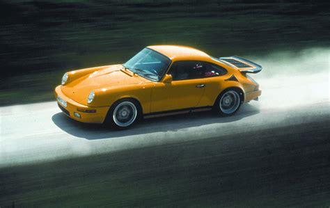 Porsche Yellow Bird by 1987 Ruf Ctr Yellow Bird Ruf Supercars Net