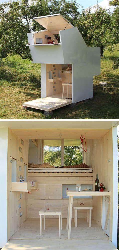 micro home 20 tiny homes that make the most of a little space bored panda